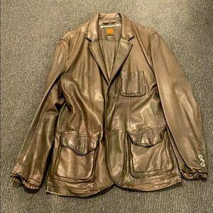 Hugo Boss Haudera Jacket - lamb leather